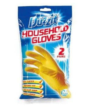 Rubber Gloves Small Size Pack of 2 Pairs DZT1025A