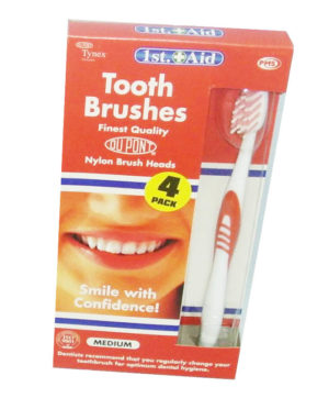 Toothbrushes High Quality Medium Pack of 4