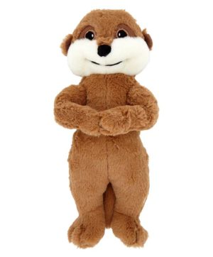 Dog Toy Squeaky Meerkat Plush 11 inch Good Boy