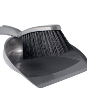 Dustpan & Brush Plastic (4 asstd colours) ZUK
