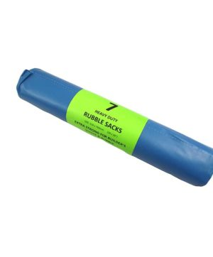 Bags Rubble Sacks Roll of 7 Blue MP