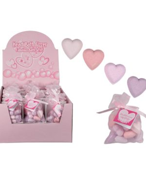 Bath Fizzers Heart Shape 10pK