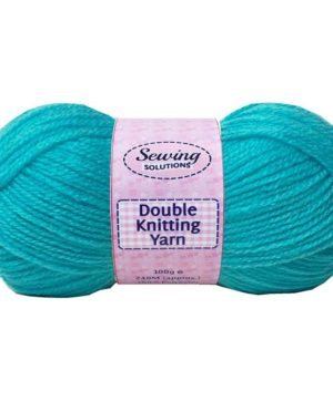Knitting Wool Aqua Blue 100g