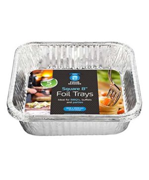 Foil Roasting Dish - Foil - 5 pack 190x190mm