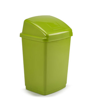 Swing Bin 30 Litre Leaf Green Whitefurze