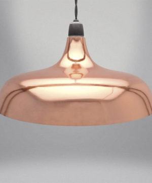 Light Fitting Copper Coolie Dome