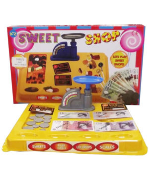 Toy Sweet Shop with Play Money and Scales