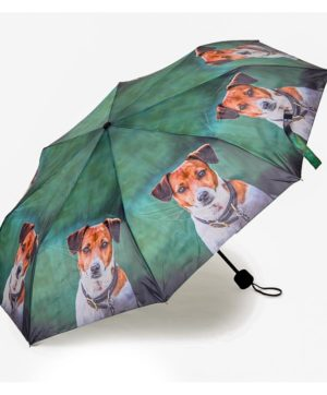 Umbrella Folding Amber the Jack Russell CM