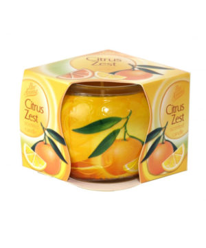 Candle In Jar Citrus Zest Fragrance