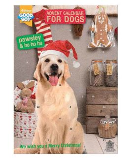 Christmas Dog Advent Calendar With Chocolate Drops