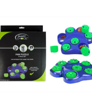 Dog Paw Puzzle Treat Finder