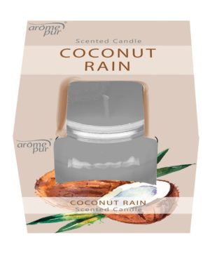 Candle In Jar 3oz Coconut Rain