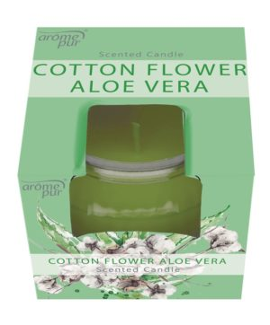 Candle In Jar 3oz Cotton Flower Aloe Vera