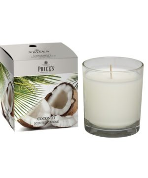 Prices Boxed Jar Candle Coconut
