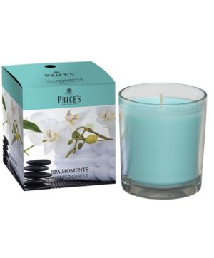 Prices Boxed Jar Candle Spa Moments