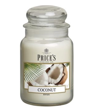 Prices Lge Jar Candle Coconut