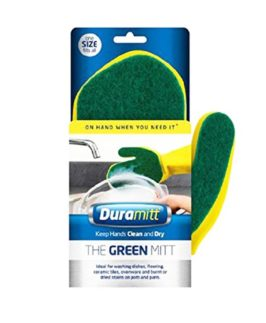 Duramitt Green Mitt Cleaning Glove Right Handed