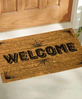 Doormat Welcome 2 asstd Designs 40x60cm