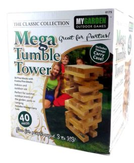 Tumble Tower Mega Wooden 40pc