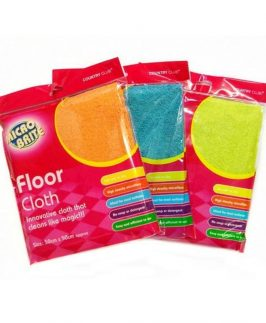 Floor Cloth Micro Brite 50cm x 50cm In 3 Colours